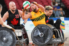 'When chess meets dodge-'em cars': Murderball kicks off at the Paralympics