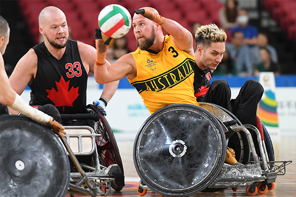 Article image for 'When chess meets dodge-'em cars': Murderball kicks off at the Paralympics