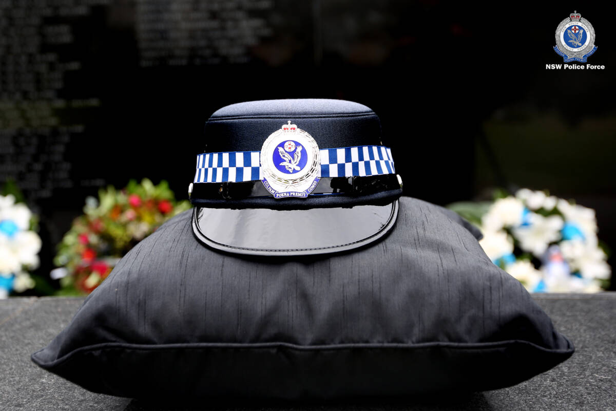 Article image for 'Extremely hard' day for families of police who made the ultimate sacrifice