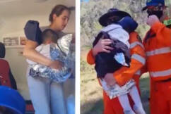 'It's incredible he's still alive': AJ's rescuer describes moment he found the toddler
