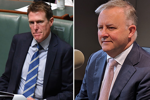 Article image for Labor leader dishes out ultimatum on former minister Christian Porter