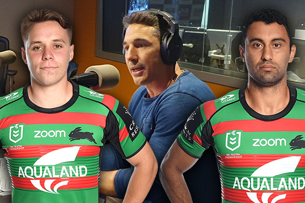 Article image for Billy Slater reveals his pick for the Rabbitohs' no. 1 replacement