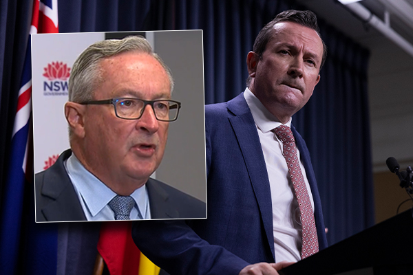 Article image for 'A bit sad': NSW Health Minister expresses pity for WA residents