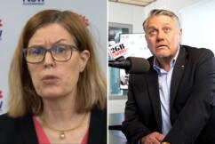'Pig's bum!': Ray Hadley hits out at CHO Dr Kerry Chant's 'nonsense'
