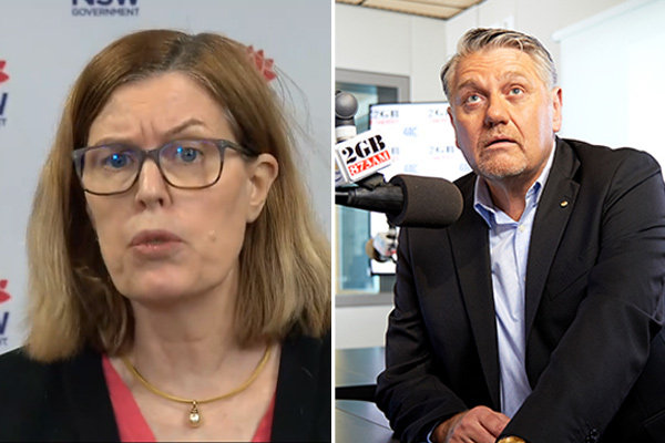 Article image for 'Pig's bum!': Ray Hadley hits out at CHO Dr Kerry Chant's 'nonsense'