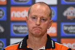 Tigers chairman denies joining push to oust Michael Maguire amid 'messy' yearly review
