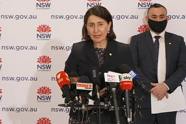 Article image for ROADMAP REVEALED | NSW Premier details Sydney's path out of lockdown