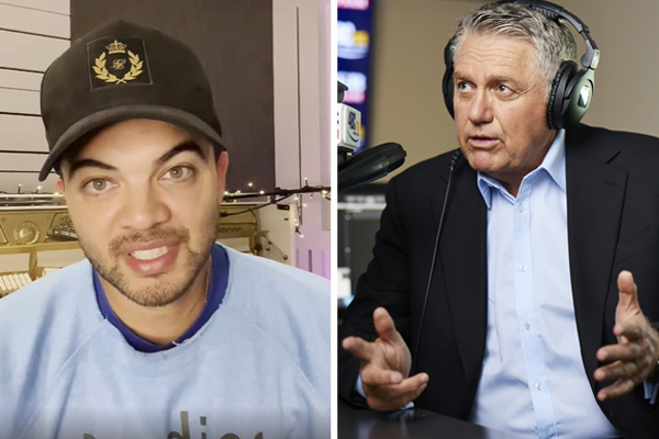 Article image for Ray Hadley goes head-to-head with Guy Sebastian live on-air