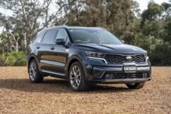 Kia's all-wheel drive diesel Sorrento SUV, best in top-grade GT-line