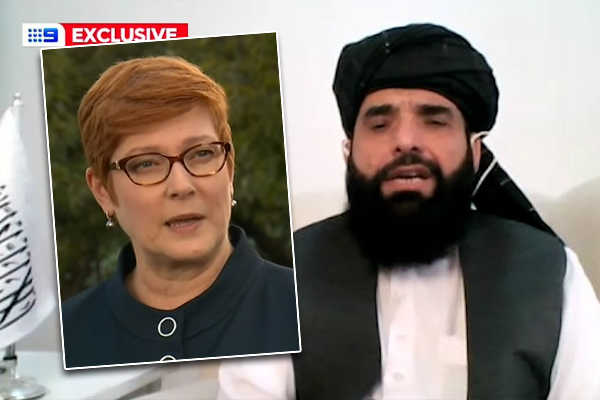 Article image for Foreign Minister condemns Taliban official's 'repugnant' slur on Australian soldiers