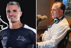 Peter V'landys rebuffs Panthers coach's plea to end pre-game 'theatre'
