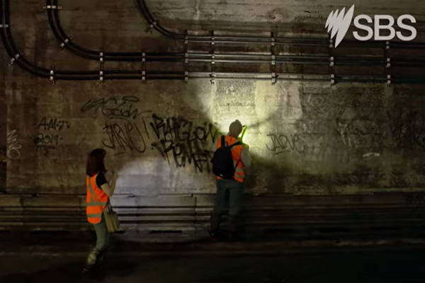 Article image for Secret tunnels and bodies exhumed: The past and present of Australia's busiest station