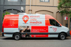 The Streetside Medics helping vaccinate those in need
