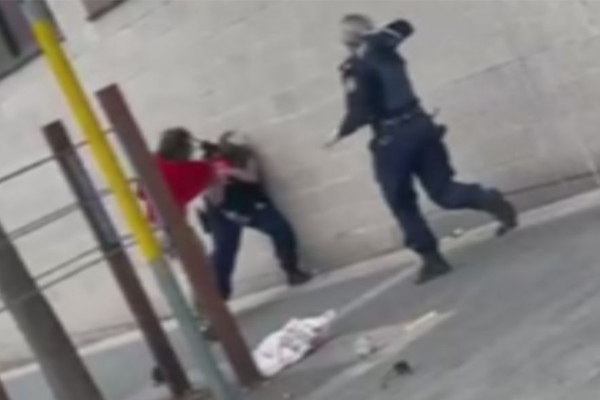 Article image for Ray Hadley defends officer in viral police attack video