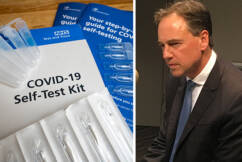 Greg Hunt says home COVID tests 'on the way' for Australians
