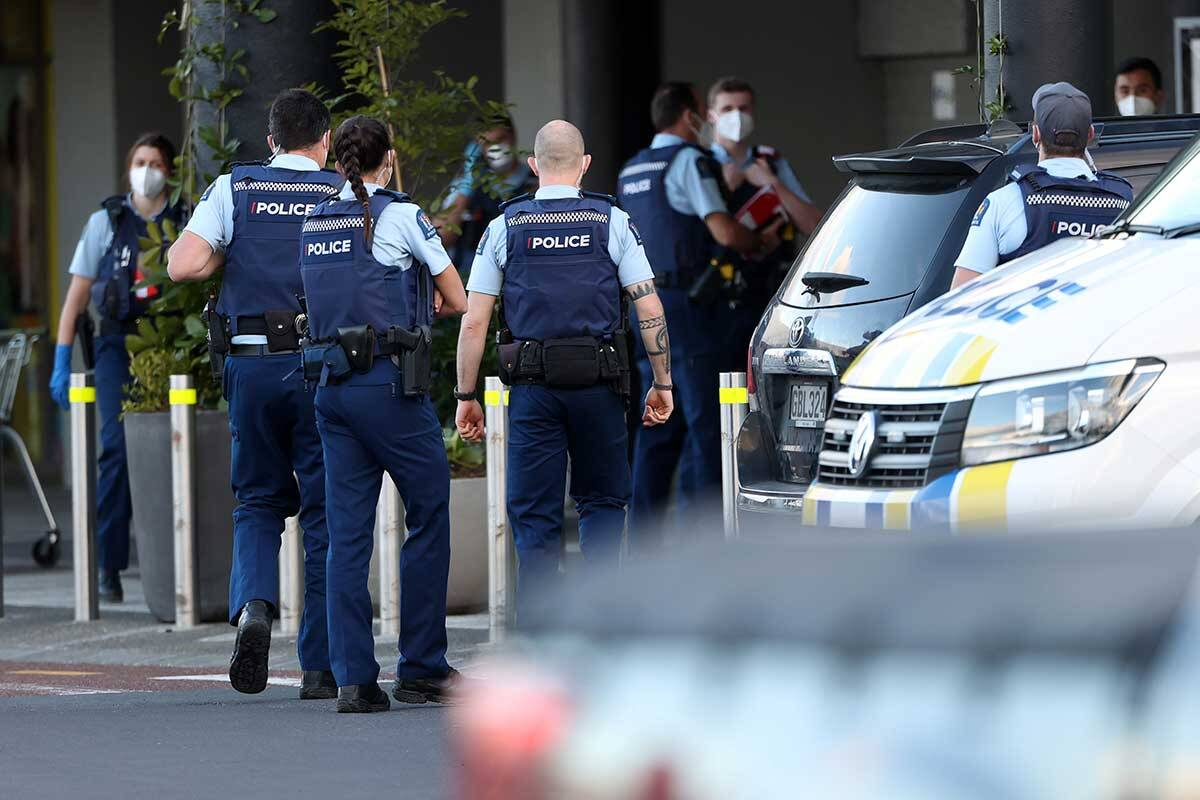 Article image for Known terrorist shot dead after stabbing six in New Zealand supermarket