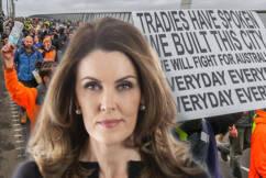 'A bridge too far': Peta Credlin empathises with tradie protesters' cause