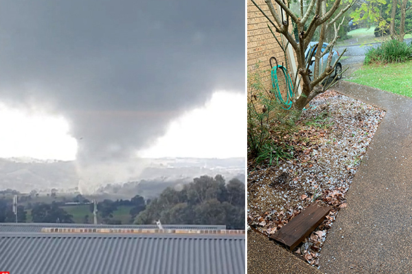 Article image for Bathurst residents sustain minor injuries as tornado wreaks havoc on homes