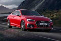 Audi's performance skewed S5 Coupe with stunning road grip