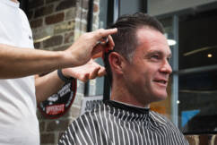 Chris Minns hits the Groom Room for 'world's most expensive haircut'