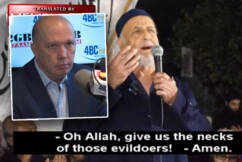 'Ban the bastards!': Ray Hadley appeals to Peter Dutton over Palestinian hate group