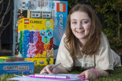 Sick kids' big imaginations brought to life with dream toy creation