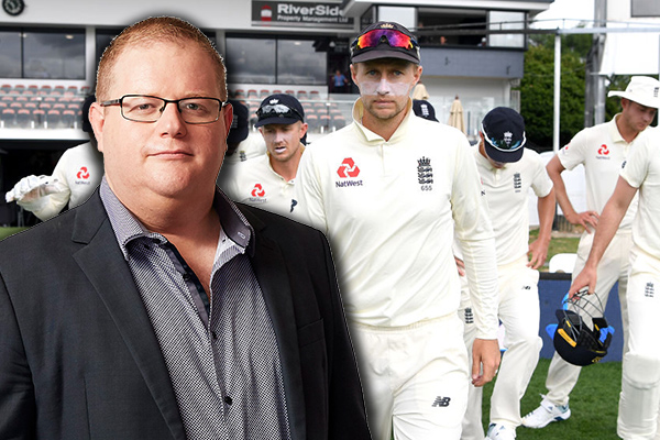 Article image for Mark Levy calls out 'breathtaking arrogance' of English cricket team