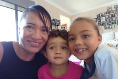BORDER WIN | QLD mum reunited with her kids after months of waiting