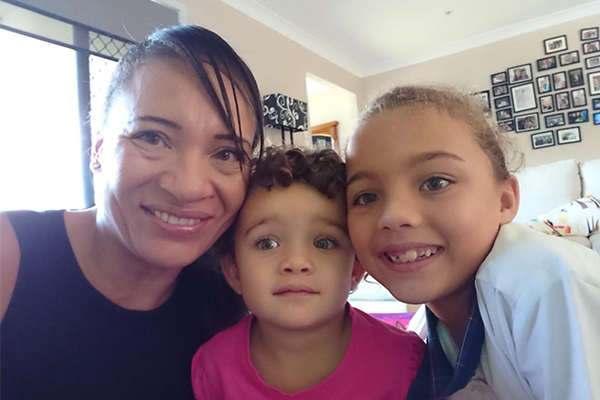 Article image for BORDER WIN | QLD mum reunited with her kids after months of waiting