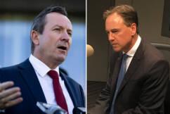 Health Minister takes aim at Western Australia's 'permanent bio-autocracy'