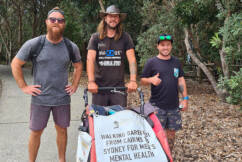 The Barefoot Dutchman has broken world records while raising money for men's mental health