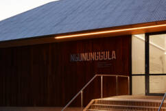 From milk and manure to cultural hub: New regional gallery's Sydney connection