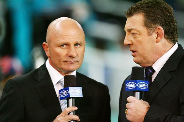 Article image for NRL legend Peter Sterling farewells Nine's commentary team