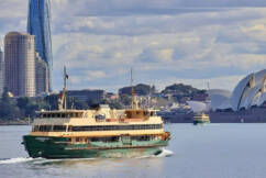 'Grand old dame' of Sydney Harbour takes final voyage