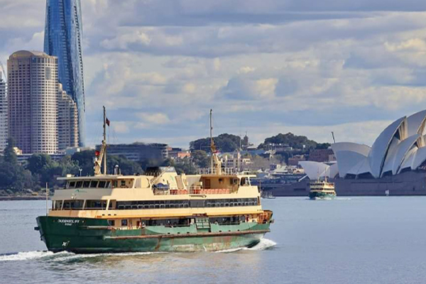 Article image for 'Grand old dame' of Sydney Harbour takes final voyage