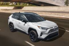Toyota's popular Hybrid RAV4 SUV – but is it worth the ten month wait