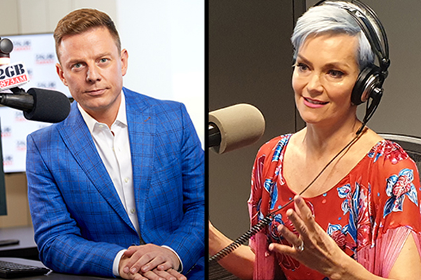 Article image for 'Cancel culture freaks': Ben Fordham slams 'vile abuse' of Jessica Rowe