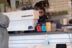 Ben Fordham shouts coffees at cafe targeted by anti-vaxxer