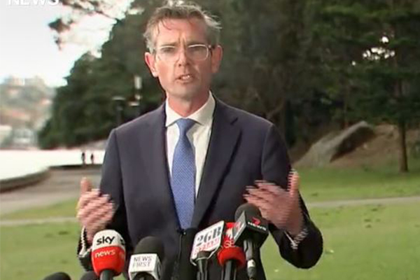 Article image for NSW Premier failed to consult PM before scrapping quarantine