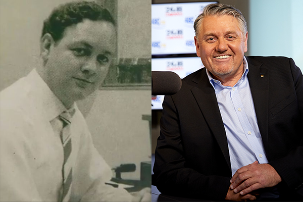 Article image for The moment Ray Hadley's career in broadcast radio began