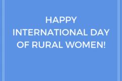 Celebrating Rural Women
