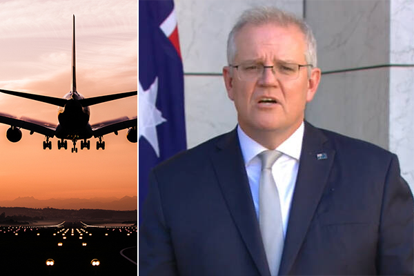 Article image for International travel to resume in November, Prime Minister confirms